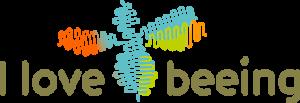 Logo I Love Beeing full colour
